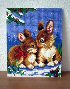Bunny Love Bunny Love, Crochet Baby Mobiles, Create A Board, Easter Cross, Hama Beads, Animal Crossing, Cross Stitch, Teddy Bear, Embroidery
