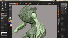ZBrush 4R6 Layering Shaders Creation by Eric Keller on Vimeo