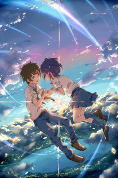 Anime music: The Best Anime Songs to Put on Your Playlist. Find the anime love songs, the best anime singers, anime sad songs, and all the best anime songs. Manga Anime, Film Manga, Film Anime, Anime Songs, Manga Art, Kimi No Na Wa, Anime Pokemon, Anime Kawaii, Cosplay Anime