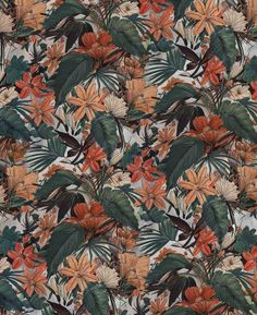 Repeated Jungle Pattern