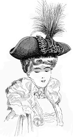 Edwardian bicorn hat