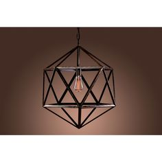 Warehouse of Tiffany's Caged Chandelier | Overstock.com Shopping - The Best Deals on Chandeliers & Pendants