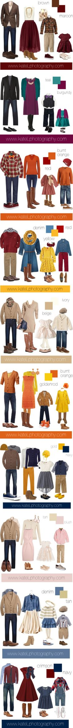 What to Wear for Fall Family Photos by katelphoto on Polyvore featuring мода, Alice + Olivia, G-Star Raw, Brooks Brothers, Rosantica, Wrangler, Tod's, Report, Il Gufo and Tory Burch