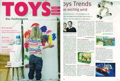 """Ils en parlent :  mes Puzzles à remonter le temps sont à l'honneur dans le magazine allemand """"TOYS magazine"""" !"""