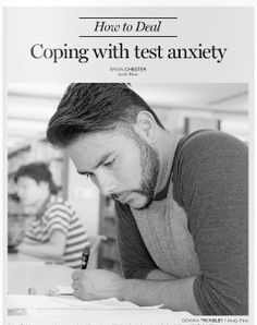 How do you cope with test anxiety?