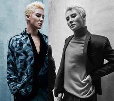 Kim Junsu / Xia Junsu JYJ ♥♥^^ for DAZED Korea Magazine Januar`y 2017