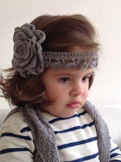 Accesorio realizado a crochet. Para niñas y mayores. De qué color te gusta?