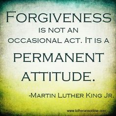 MLK on Forgiveness