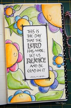 DLP journal page by elvie studio: inspiration monday Scripture Art, Bible Art, Bible Scriptures, Scripture Journal, Bible Quotes, Kunstjournal Inspiration, Art Journal Inspiration, Illustrated Faith, Favorite Bible Verses