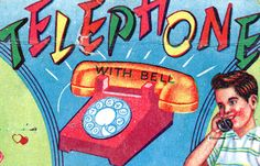 Telephone… with bell. CSA / Flat File