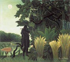 Le Douanier Rousseau.