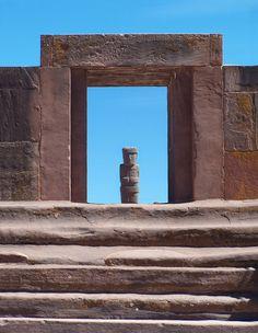 via www.mountainadventures.com Tiahuanaco, Bolivia