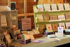 card displays craft fair | Craft show stationery & card displays - www.creativedestiny.ca