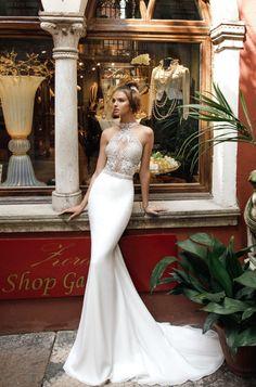 Courtesy of Julie Vino Wedding Dresses #weddingdress