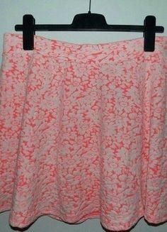 Kup mój przedmiot na #vintedpl http://www.vinted.pl/damska-odziez/spodnice/15276747-rozowa-kloszowa-spodniczka-z-dzerseju-hm