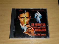 RICHARD BAND - Re-Animator / Bride of Re-Animator - OST CD