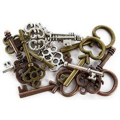 Fairy Tale by Bead Treasures Mixed Mini Key Charm Pack | Shop Hobby Lobby