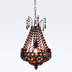 Bohemia Classic Beads Balcony Pendant Lamp Vintage Dining Room Pendant Lamp Hallway Pendant Lamp -7