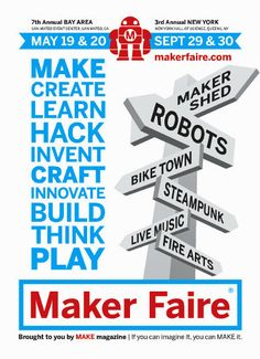 Postcard for Maker Faire
