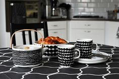 lunch siirtolapuutarha marimekko hemtex duk 1 Marimekko, French Press, Coffee Maker, Kitchen Appliances, Lunch, Tableware, Home, Style, Coffee Maker Machine