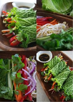 Raw Spring Rolls!! BY: Kelly Smith for the FullyRawKristina Recipe Competition!,