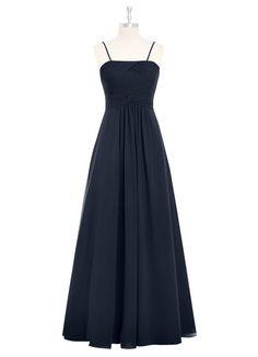 AZAZIE IMOGENE. Imogene is a floor-length A-line dress with a straight neckline. #Bridesmaid #Wedding #CustomDresses #AZAZIE