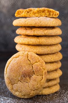 Pumpkin Snicker Doodles