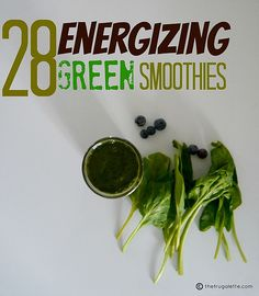 28 Green Smoothie Recipes by thefrugalette, via Flickr