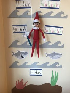 100 Hilarious Elf on the shelf ideas to cherish the sweet Smile on your Kid's Face - Hike n Dip Looking for funny and hilarious elf on the shelf ideas that would get you through the Christmas month? Then have a look at these elf on the shelf ideas. All Things Christmas, Christmas Holidays, Christmas Crafts, Family Christmas, Christmas Ideas, Christmas Activities, Christmas Traditions, Tic Tac Toe, Woody Und Buzz