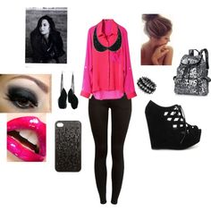 """""""~First Day Of School: Demi~"""" by queen-of-procrastination on Polyvore"""