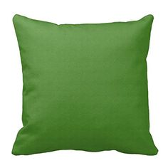 Solid Color Home Style Throw Pillow Case Cushion Cover for Sofa Decorative Squares Twin Sides Green -- Read more reviews of the product by visiting the link on the image.