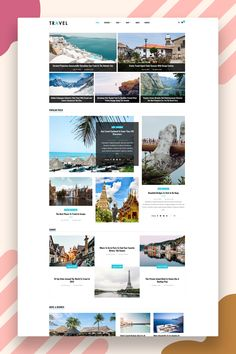 Clean, bright, and classy, Cannes is an airy WordPress magazine & blog theme designed to stage your content in structured elegance. The minimal style and color palette of this blog design means that the template will provide a structure that will work excellently for blogs. Moreover, the easy readability will make it a joy for your readers to discover your content. #wordpresstheme #blognews #magazinewordpresstheme