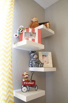 cute idea for a corner!