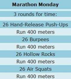 Nice little workout