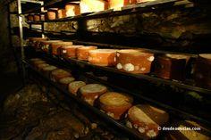 El queso de Gamoneu. Quesos de #Asturias [Más info] http://www.desdeasturias.com/el-queso-de-gamoneu/