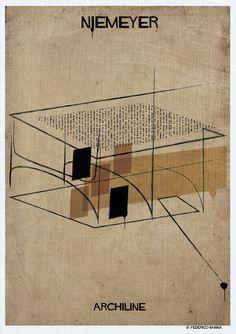 Federico Babina ARCHILINE - Niemeyer