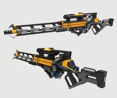 ArtStation - Lightning Gun wip, Aberiu (Alex)