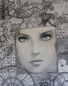 """Saatchi Online Artist Maria Chiffi; Painting, """"Memoria Attiva"""" #art"""