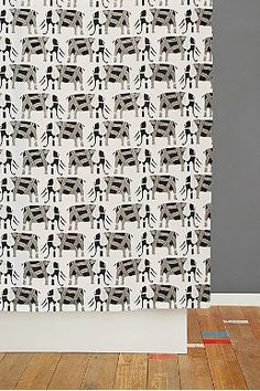 Duschvorhang mit Elefantenmotiv