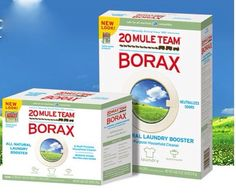 Borax 20 Mule Team Has Tons Of Uses