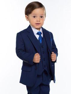 038050485 Boys blue wedding suit - Kingsman