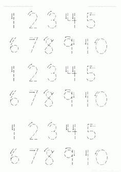 Sayı rakam çalışma sayfaları çıkart, yazdır ücretsiz indir. New free number worksheets download and printable.
