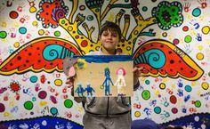 O grande objetivo é aproximar a ilustração de meninos e meninas de diferentes culturas, idiomas e religiões, como ferramenta de expressão.