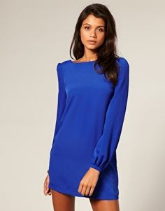 ASOS Shift Dress with Bell Sleeve - StyleSays
