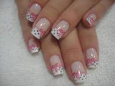 In Moda For Me: Uñas decoradas ,uñas francesas siempre a la moda Fabulous Nails, Gorgeous Nails, Pretty Nails, Toe Nails, Pink Nails, White Nails, Cancer Nails, Nagel Hacks, French Tip Nails