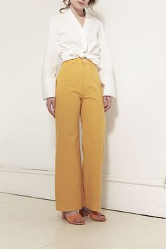 JESSE KAMM, Sailor Pants, Caribbean Gold