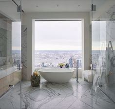 Apartment in Rafael Viñoly's 432 Park Avenue tower, which Kelly Behun outfitted using work from many emerging artists