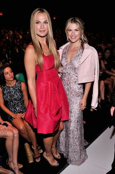 Great summer wedding dresses.  New York Fashion Week: Molly Sims and Ali Larter – Go Fug Yourself
