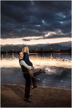 Plum Pretty Photography | Colorado Mountain Engagement Photos | Davidson Mesa | Boulder Engagement Photography | Sunset Engagement Photos