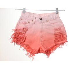 OMBRE SHORTS. DIY for the spring!